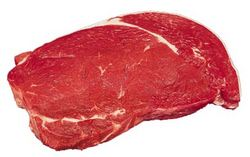 Steaks: Beef New York Sirloins (thick)