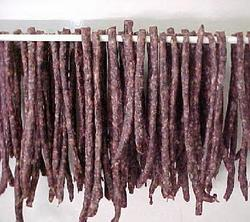 South African Specialties: Droewors - check with Shop for availability