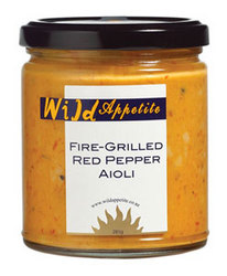 Aioli 285gm: Fire Grilled Red Pepper 375ml